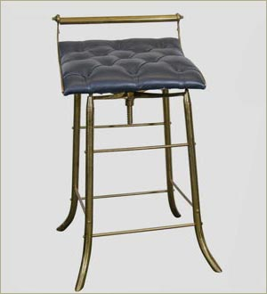 High Chair/Stool, Metalsmith Collection - Style 06